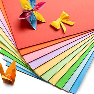 colour craft paper