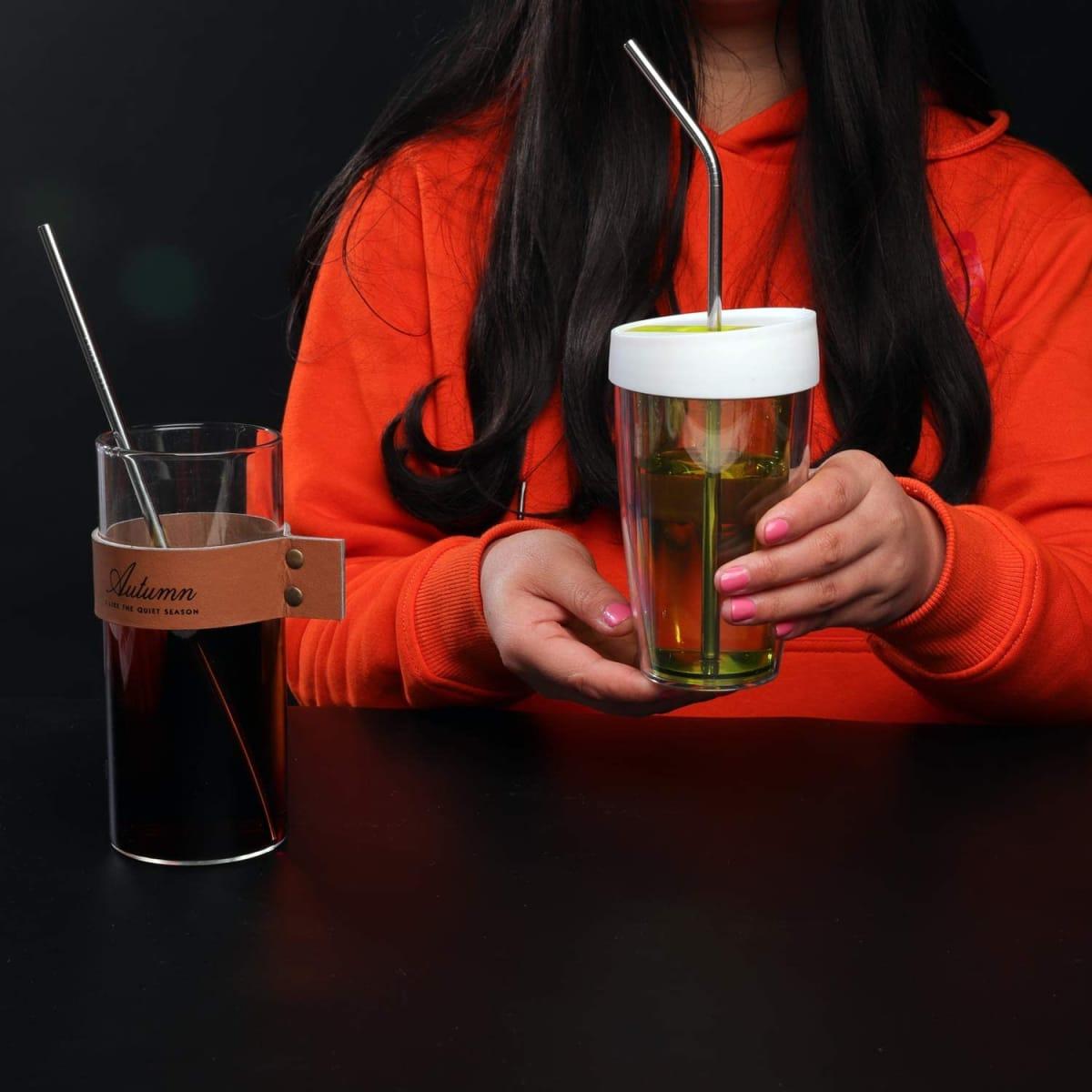stainless steel drinking straws uk