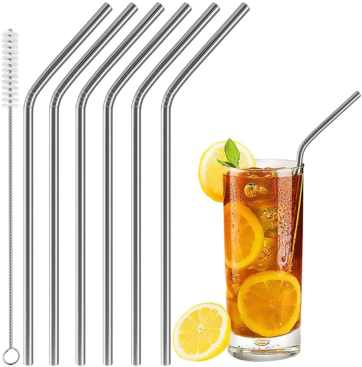metal straw set