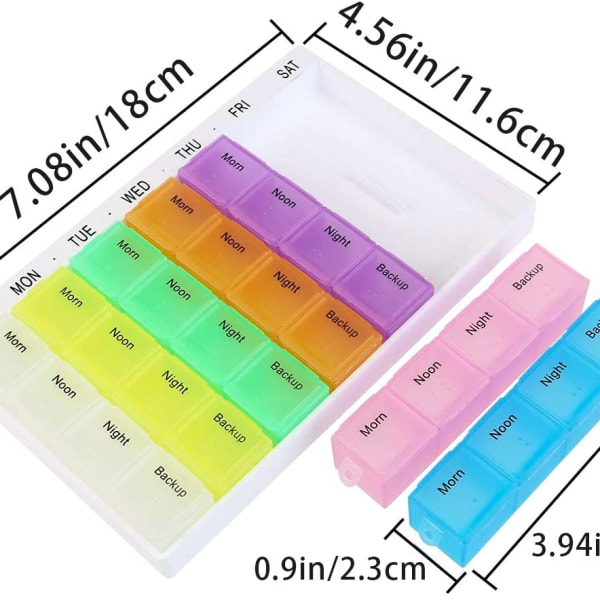 Pill Box Organiser