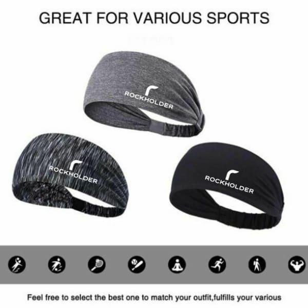 Black Elastic Headband