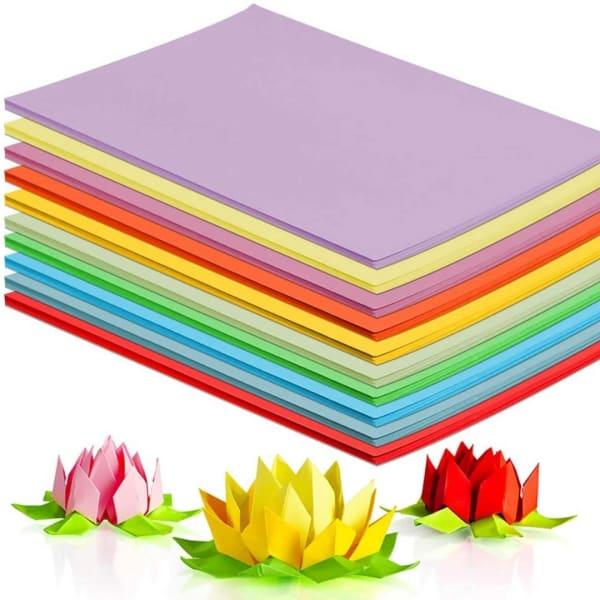 coloured card a4