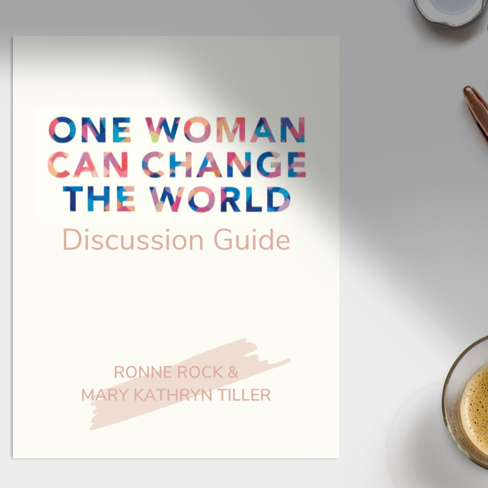 One Woman Can Change The World by Ronne Rock