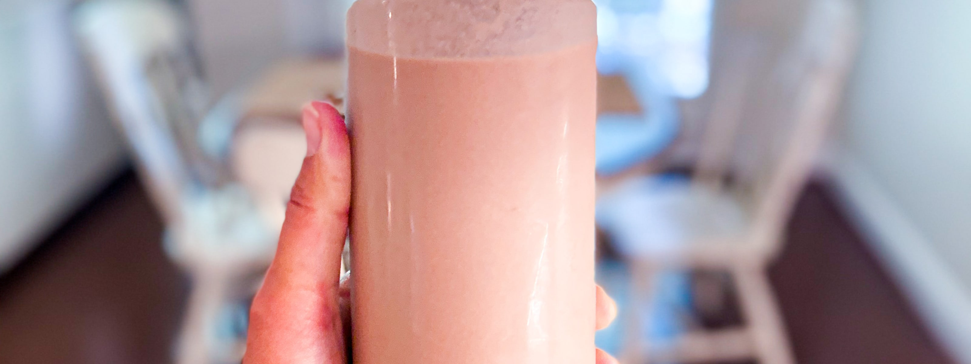 Cashew Coconut Chocolate Milk