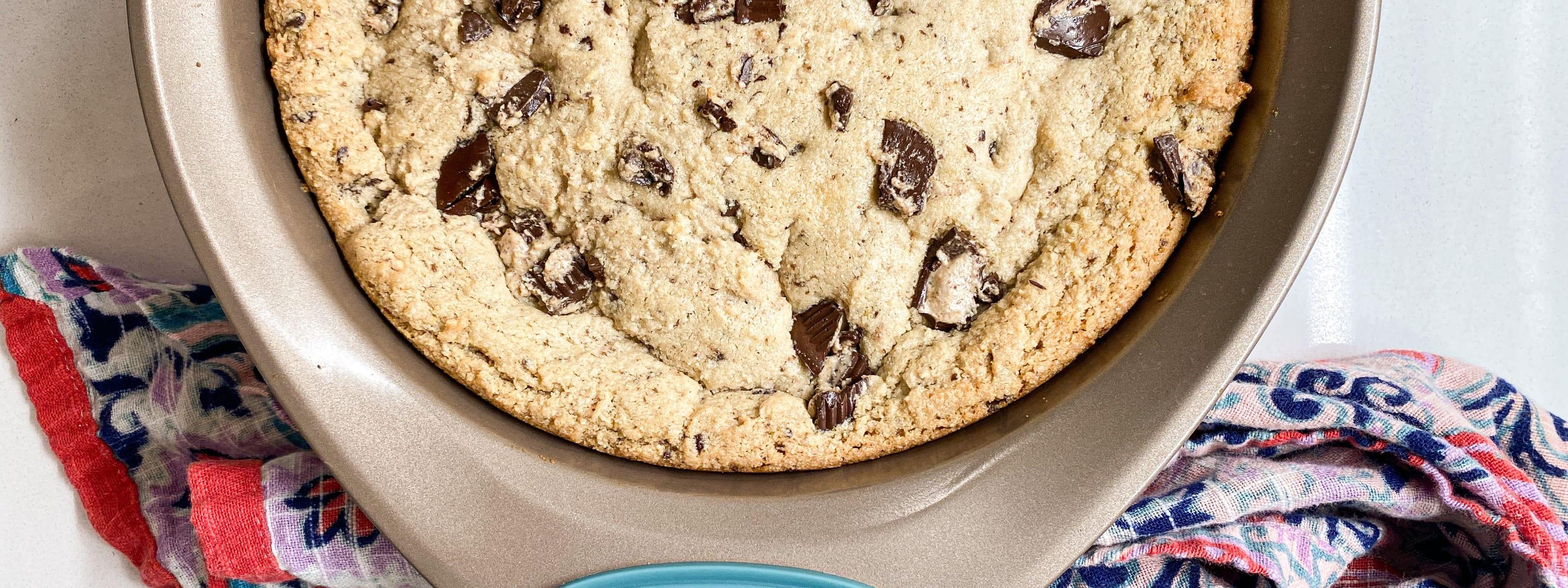 Cookie in skillet