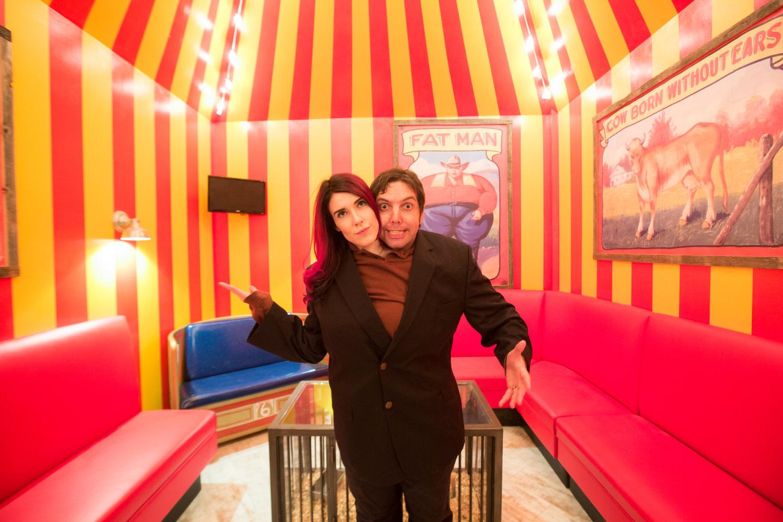 The Highball Circus Room