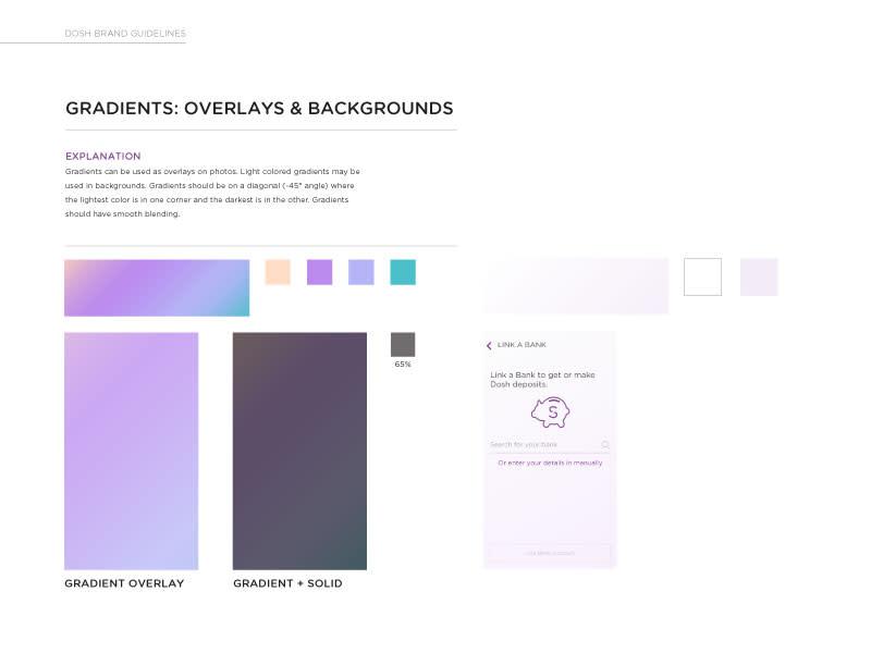 DOSH gradient examples