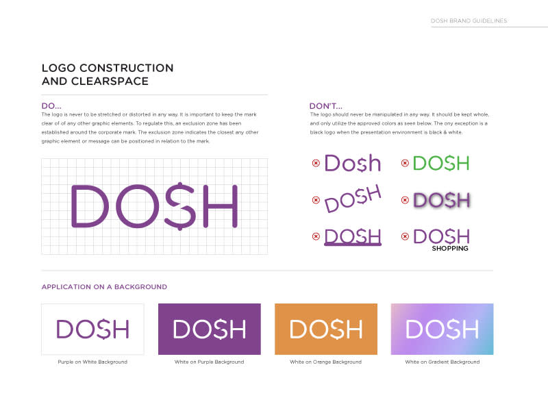 DOSH logo usage
