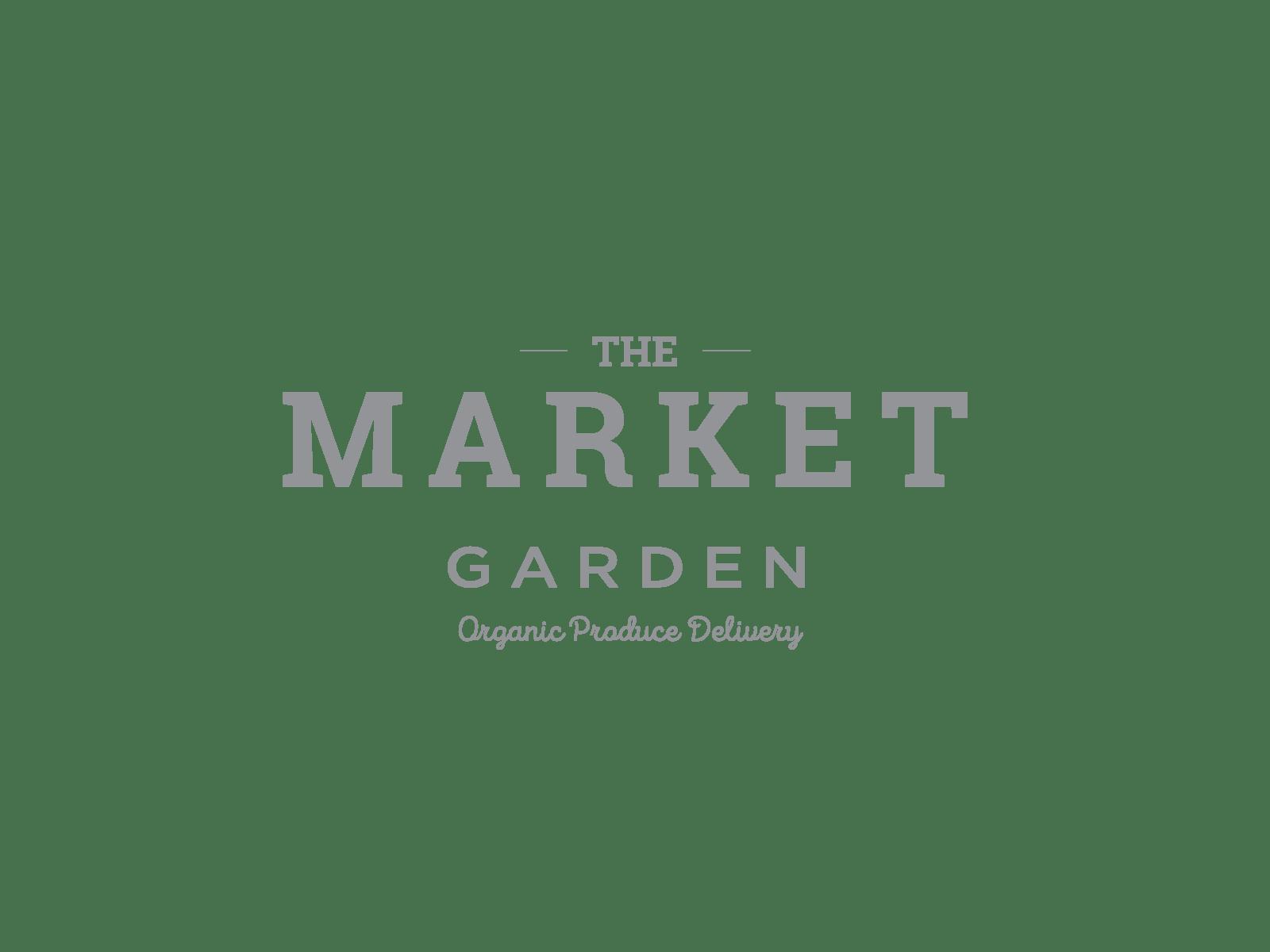The Market Garden Logo Option
