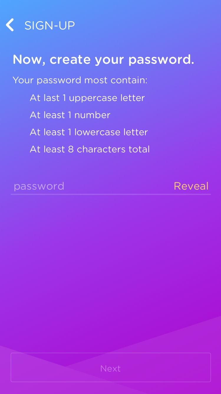 DOSH app Password: Defining the password formula Rocksauce Studios