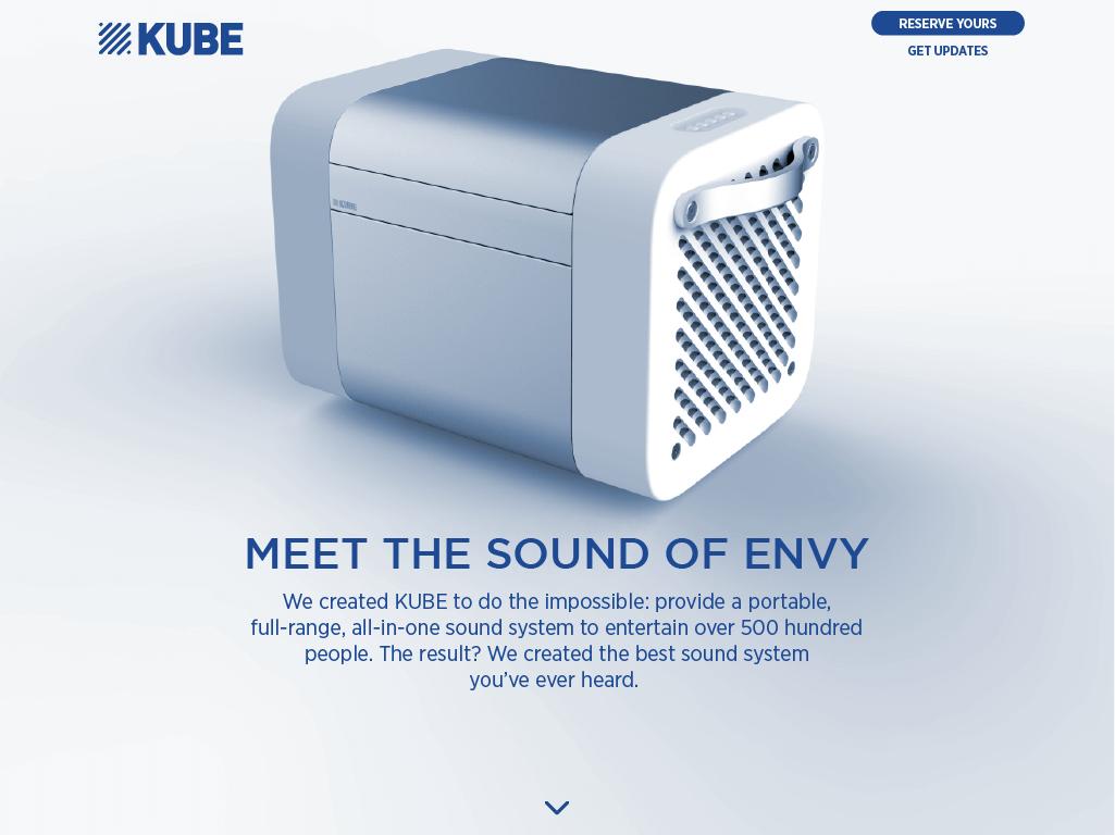 KUBE tapthrough Meet Sound or Envy Rocksauce Studios
