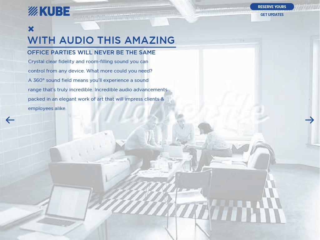 KUBE Ambient Sound Rocksauce Studios