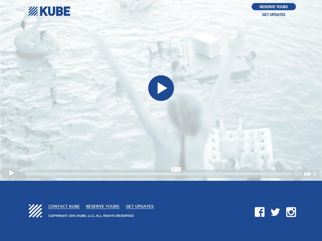 KUBE commercial Rocksauce Studios