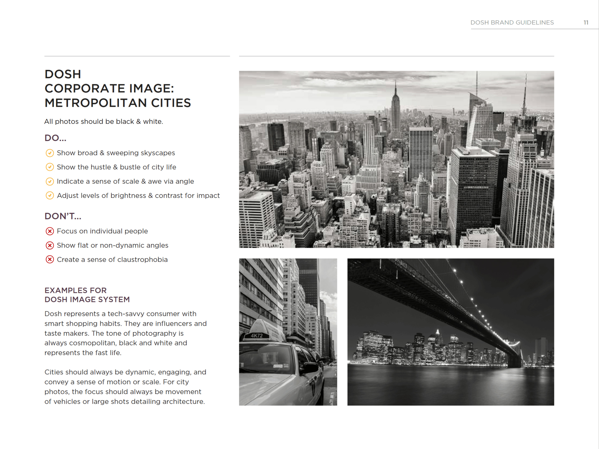 DOSH Black & white photography of city skylines Rocksauce Studios
