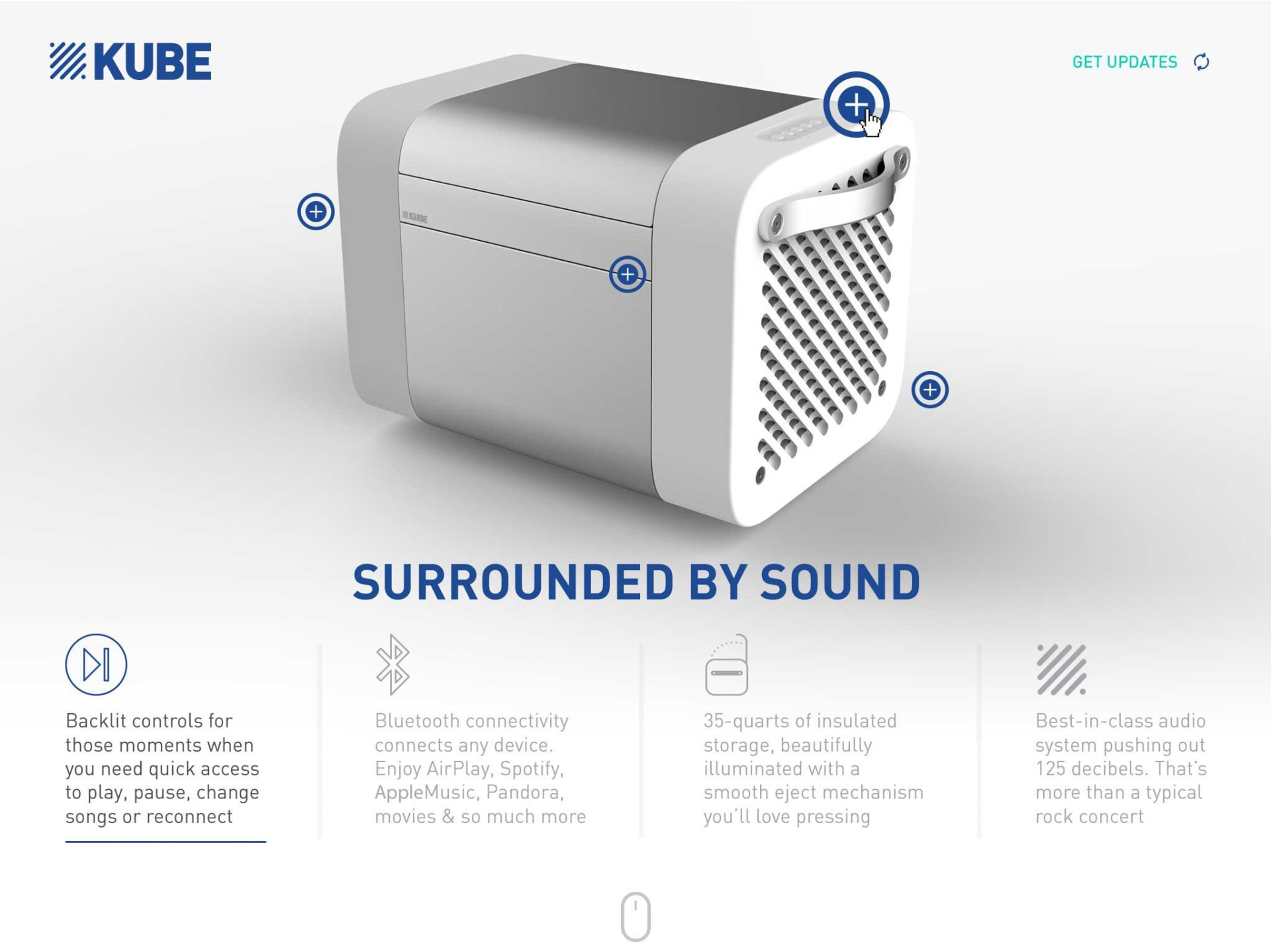 KUBE Features and Callouts Rocksauce Studios