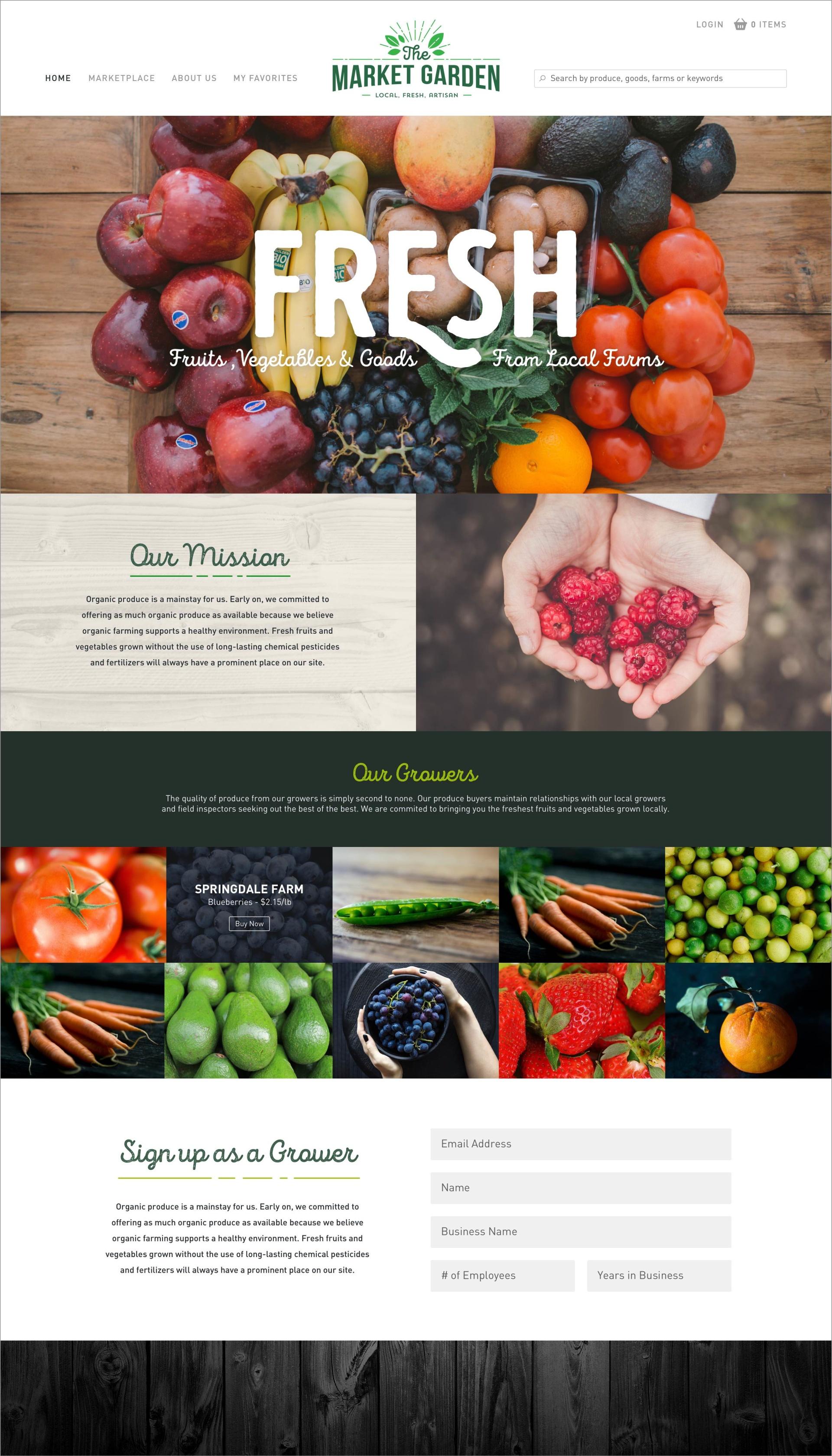 The Market Garden Homepage