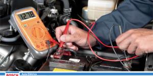 Verifique a bateria do seu carro