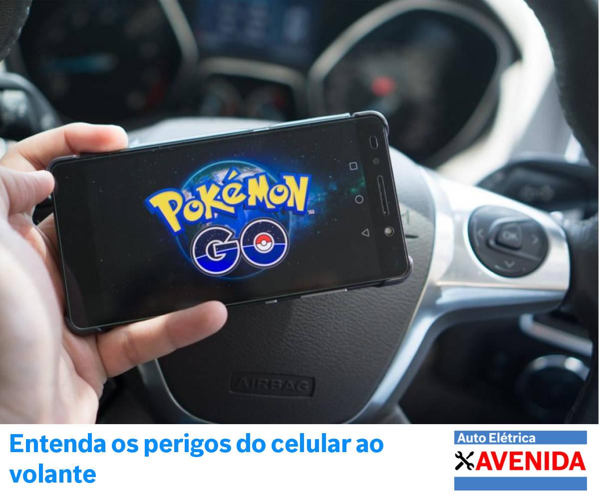 Pokémon Go no volante