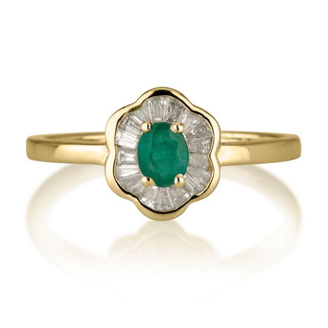 טבעת אירוסין מודל ג'ייד
