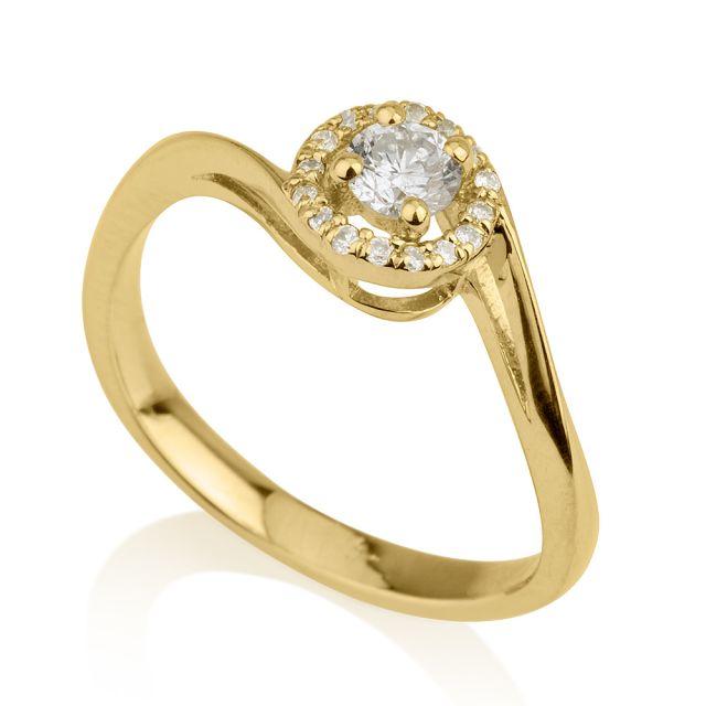 טבעת אירוסין דגם אדריאנה