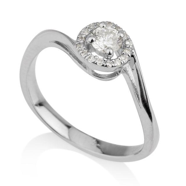 טבעת אירוסין מודל אדריאנה