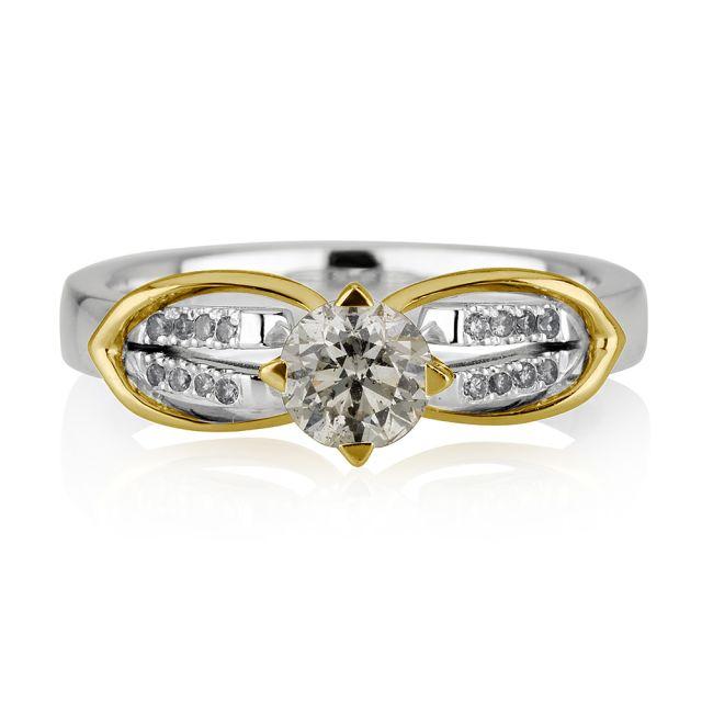 טבעת אירוסין דגם ג'יג'י