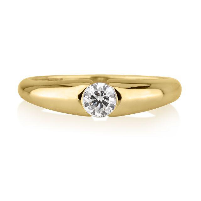טבעת אירוסין מירנדה זהב צהוב
