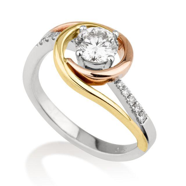 טבעת אירוסין מודל רנה