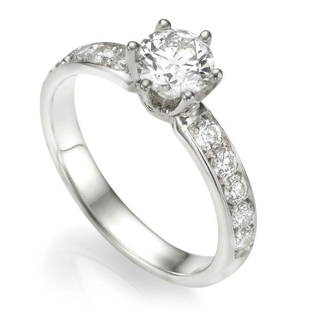 טבעת אירוסין דגם איזבלה