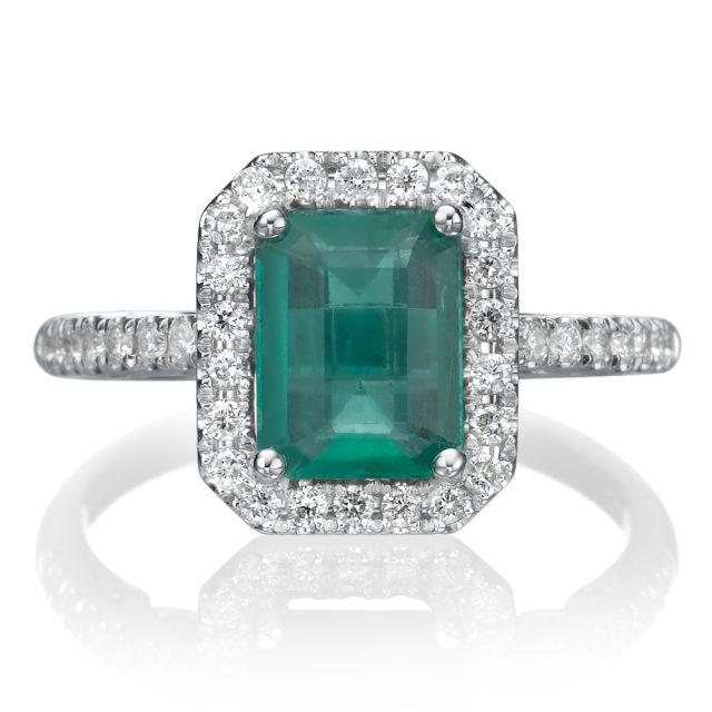 טבעת אירוסין יוקרתית מלאני