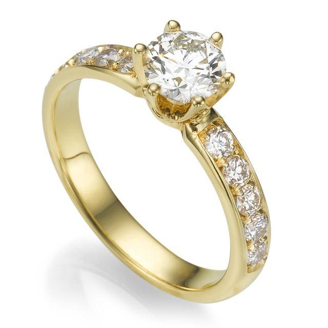 טבעת אירוסין קלאסית איזבלה