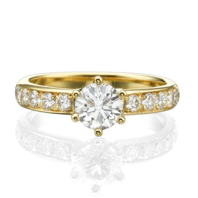 טבעת אירוסין איזבלה