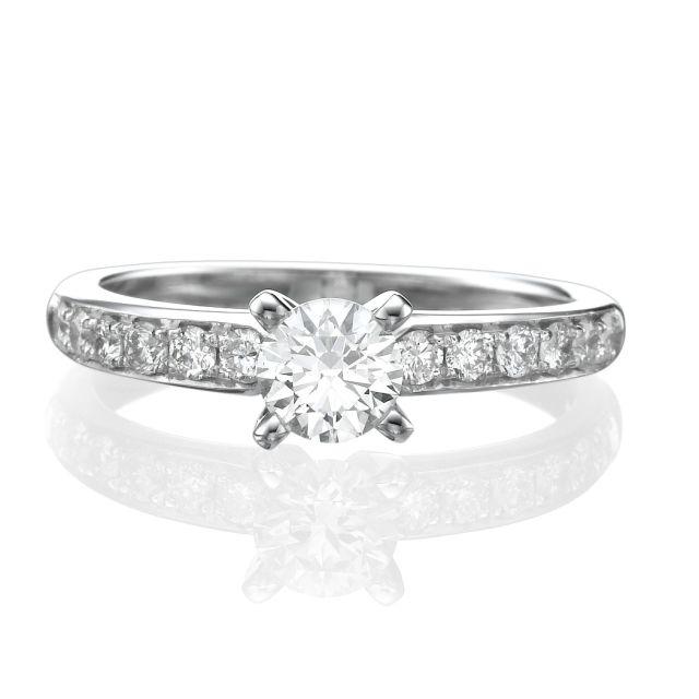 טבעת אירוסין קלאסית לונה