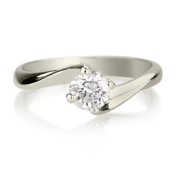 טבעת אירוסין דגם טוויסט