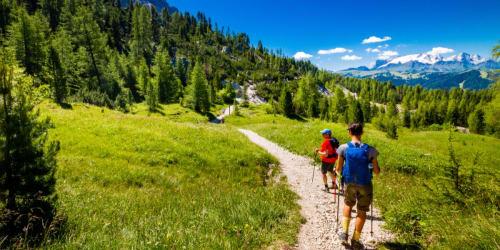 Vandring Dolomiterna