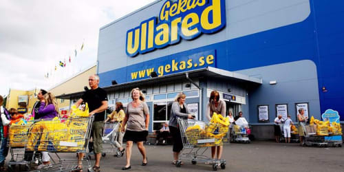 Ullared shopping