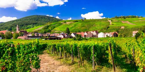Franska vinvägar