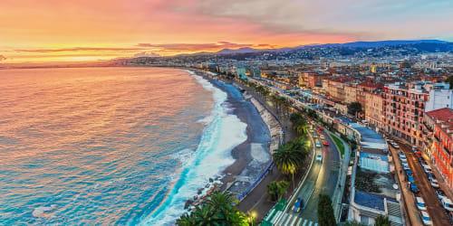 Nyår i Nice