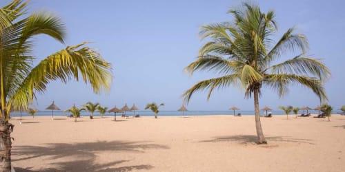 Gambia med Senegal