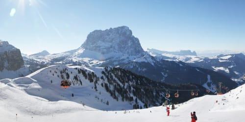 Skidor Dolomiterna