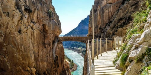 Vandring Andalusien