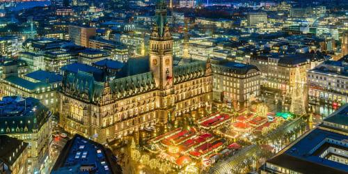 Lübeck och Hamburg