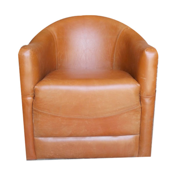 Natural Living Leather Single Sofa Online India From Indian Vendors At Rollinglogs
