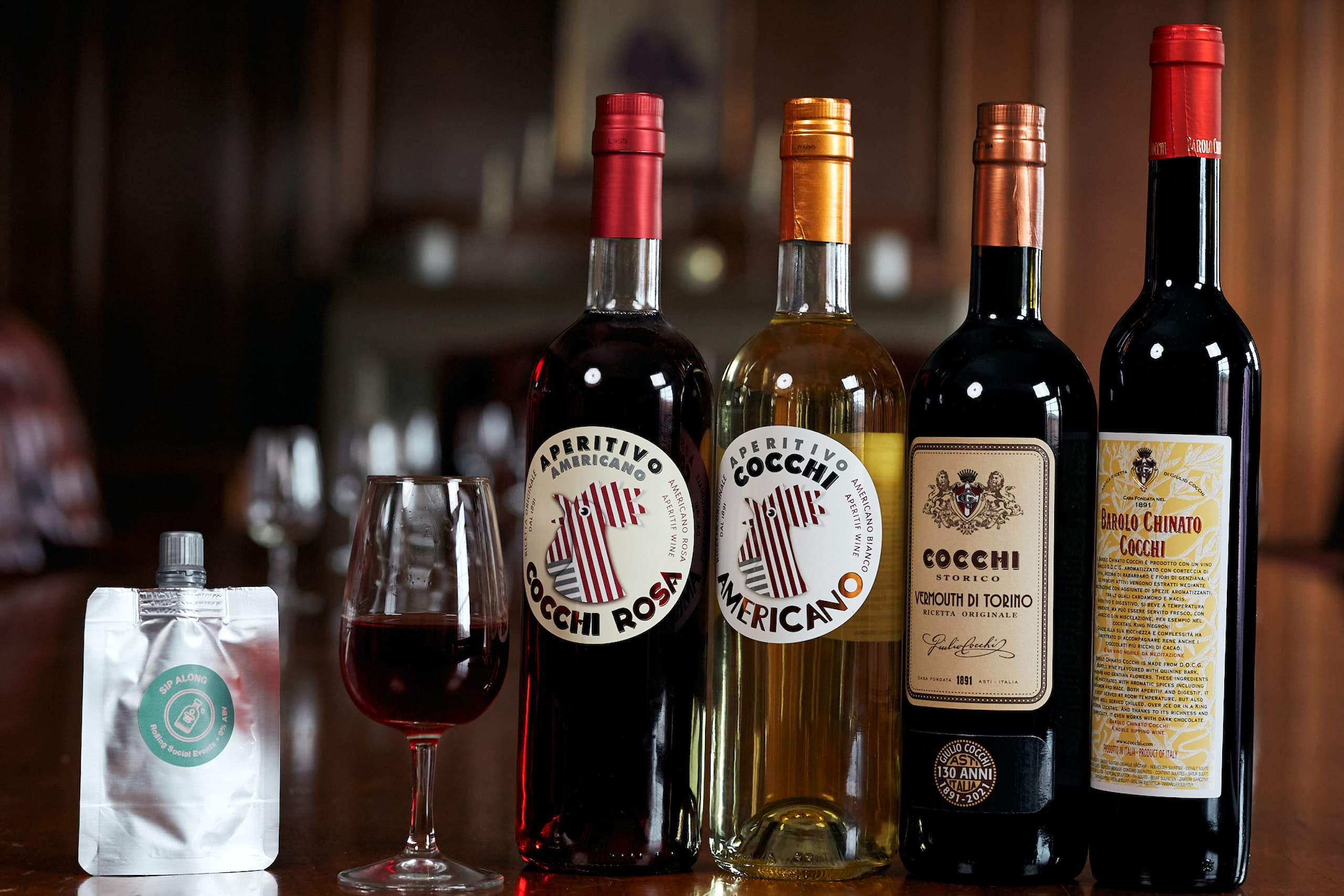 Aperitivo Sip Along with Cocchi aromatic wines