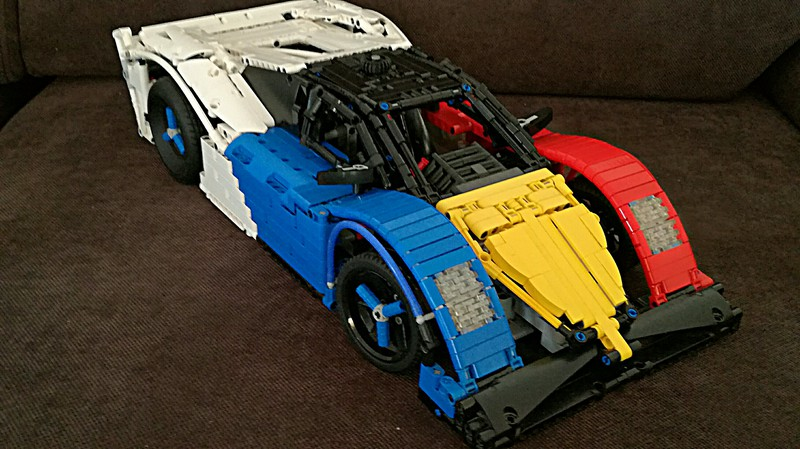 LEGO® MOC by ALEX ILEA: Race Car