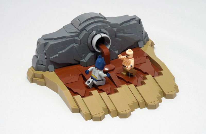 LEGO® MOC by Vitreolum: TDKR – Mutant Leader Fight