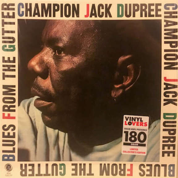 Champion Jack Dupree Blues from the Gutter LP 2017