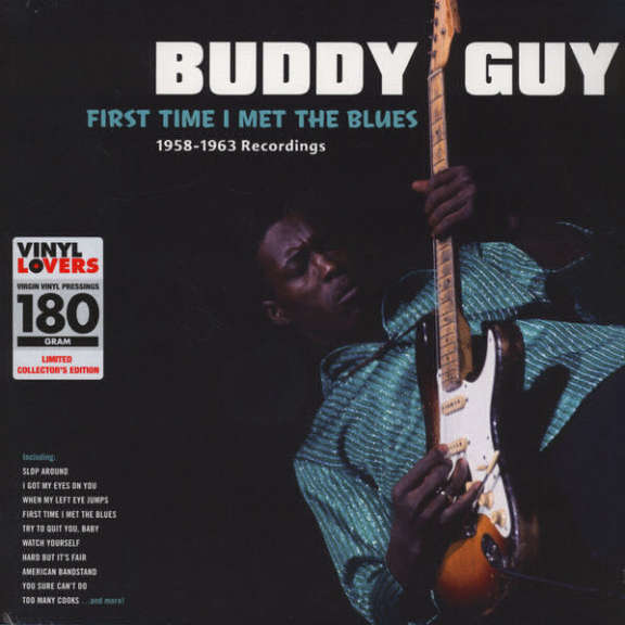 Buddy Guy First Time I Met the Blues - 1958-1963 Recordings LP 2016