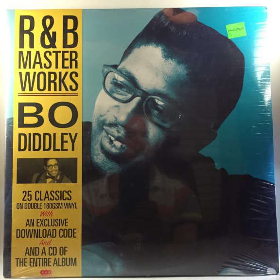 Bo Diddley R&B Master Works - 25 Classics LP 2014