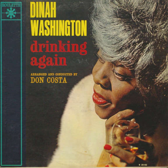 Dinah Washington Drinking Again LP 1962